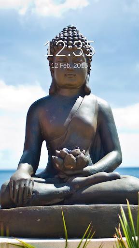 Buddha Wall Lock