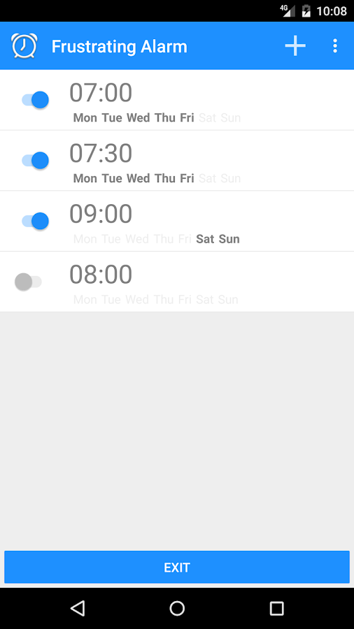 Frustrating Alarm- screenshot