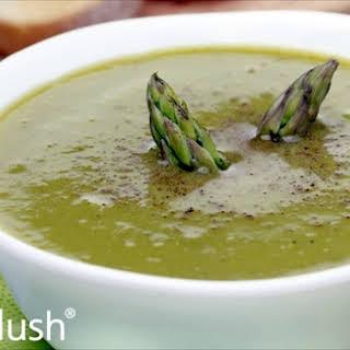 Asparagus Puree Soup.