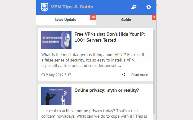 VPN Tips and Guide - Blog Update