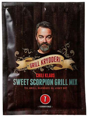 Sweet Scorpion Grillmix vindstyrka 7 – Chili Klaus