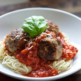 Meatballs & Marinara Sauce.