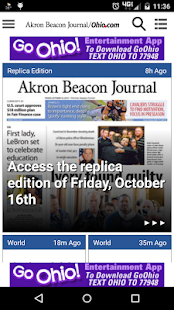 Akron Beacon Journal- screenshot thumbnail