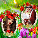 Garden Dual Photo Frames icon