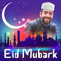 Eid Photo frame 2020 : Eid mubarak photo frame icon