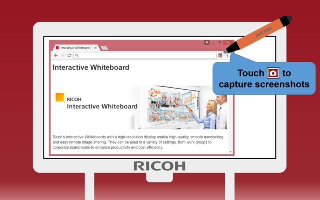 ScreenCapture on RICOH Interactive Whiteboard