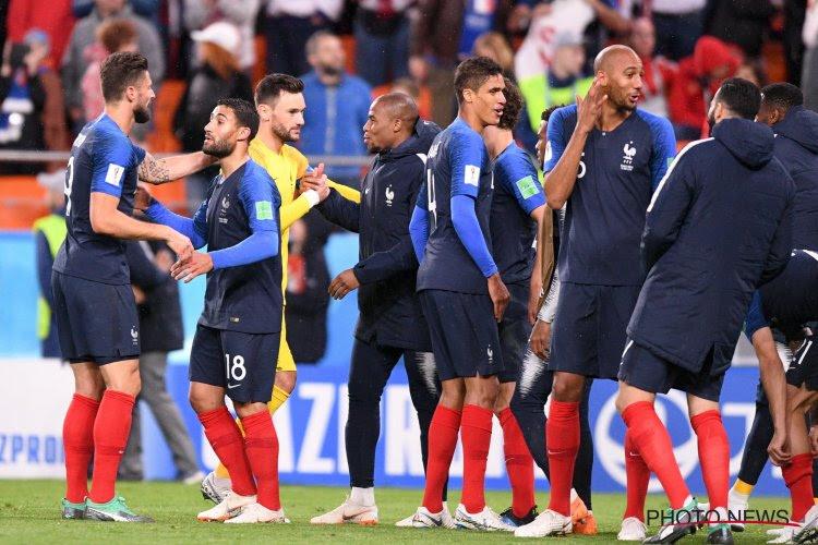 ? Vanaken a choisi 'Het is een nacht', l'équipe de France a mis l'ambiance