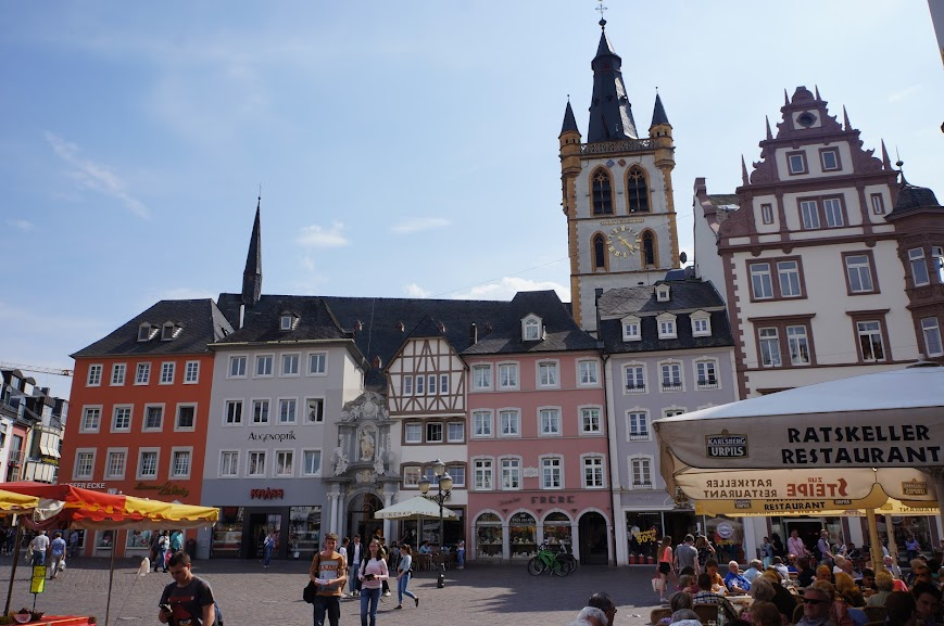 Marketplace of Trier, Germany (2014)