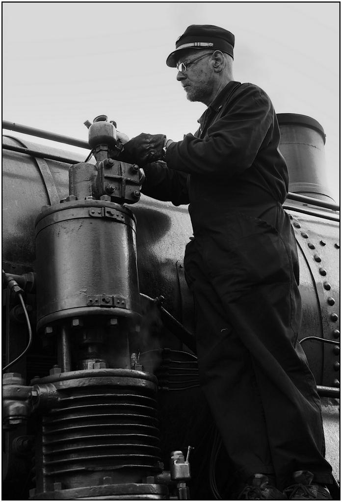la locomotiva a vapore di pablo