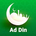Ad Din - Quran Adzan Sholat Kajian Qiblat Game icon