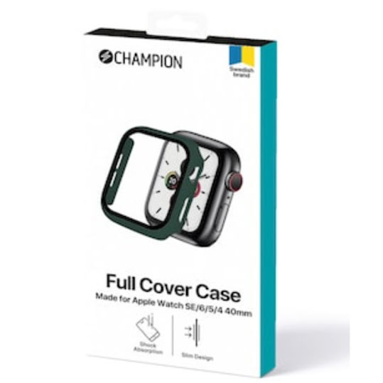 CHAMPION Full Cover Case Apple Watch SE/6/5/4 40mm Green