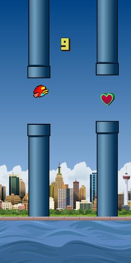 Flappy Island  captures d'écran 2