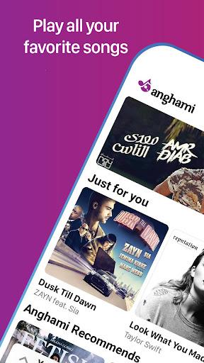 Anghami Music 3.2.40 screenshots 1