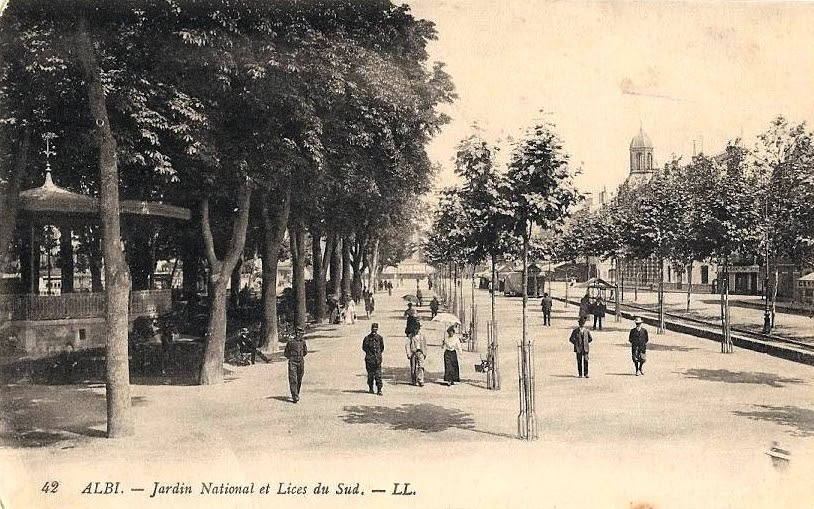 Les Lices-Vigan - Маршрут по Альби: кварталы Crémat - Vigan,