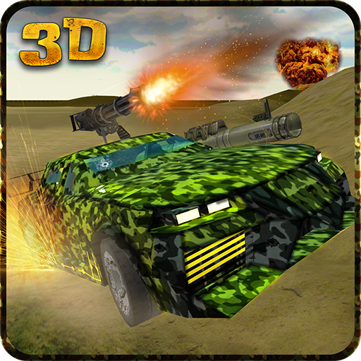动作の陸軍軍事車の運転 LOGO-HotApp4Game