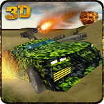 Army War Military Car Driving Icon
