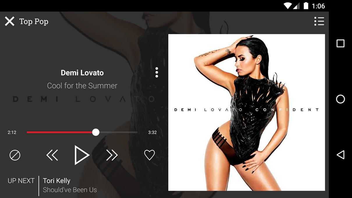 AOL Radio- screenshot
