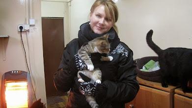 Photo: Do nowego domu naszej fb-kowej znajomej poszła moja Pączka.