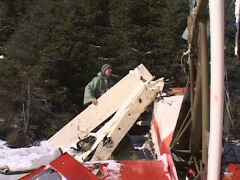 Winter Plane Crash