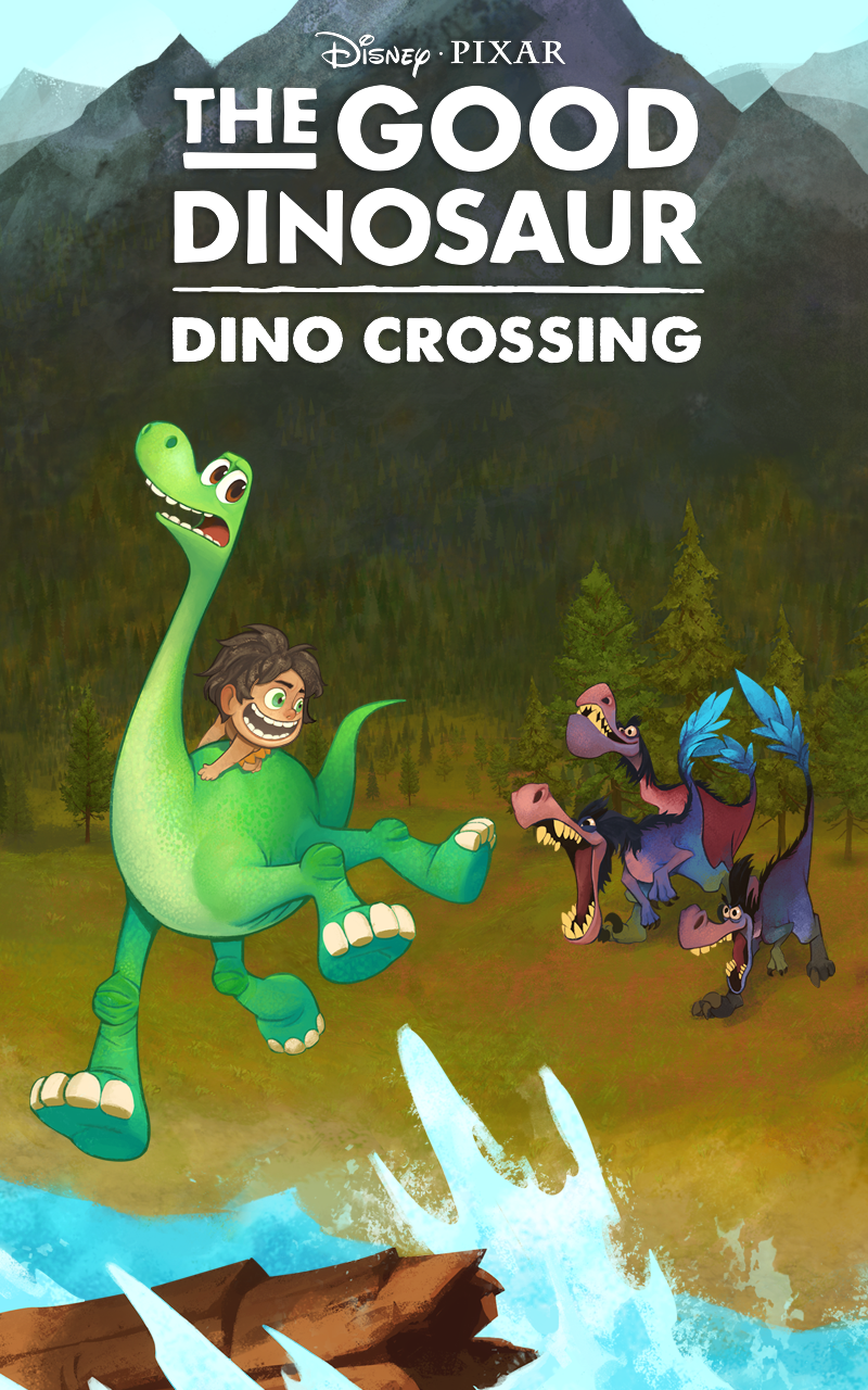 Good Dinosaur: Dino Crossing screenshot #5