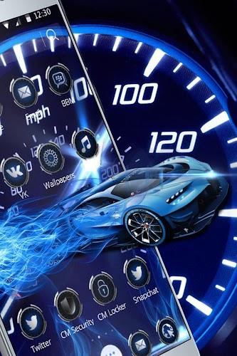 Download Analogue Neon Tachometer Dashboard Theme Apk Latest Version