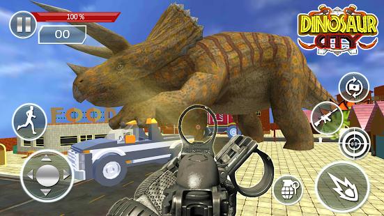 Dinosaur City Hunter 3D - náhled