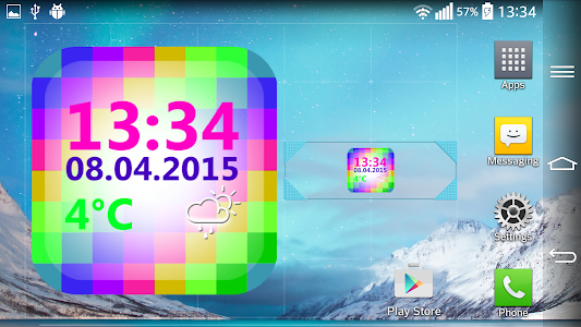 Digital Weather Clock screenshot 6
