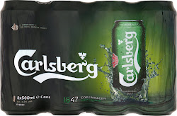 Carlsberg Premium Beer - 8 x 500ml