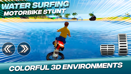Water Surfing Motorbike Stunt APK screenshot thumbnail 6