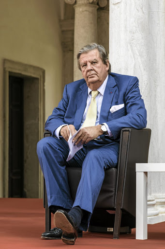Johann Rupert: Doesn't believe he'll stay in the country if things don't change drastically. Picture: Bloomberg/Alberto Bernasconi