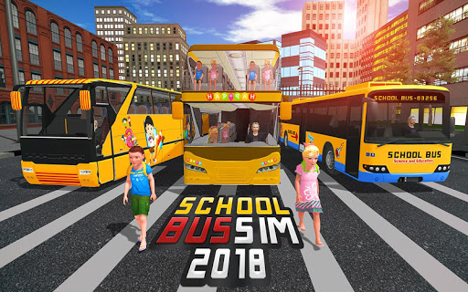 School Bus Driver Simulator 2018: City Fun Drive 1.0.2 screenshots 8
