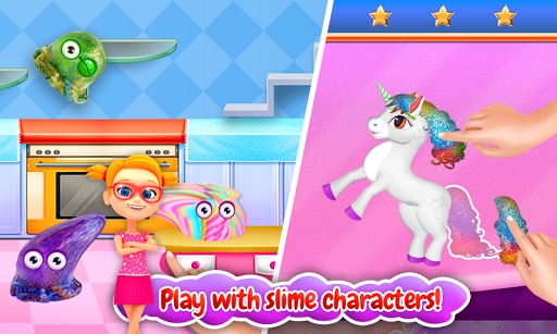 Screenshot for Unicorn Slime Maker and Simulator in United States Play Store