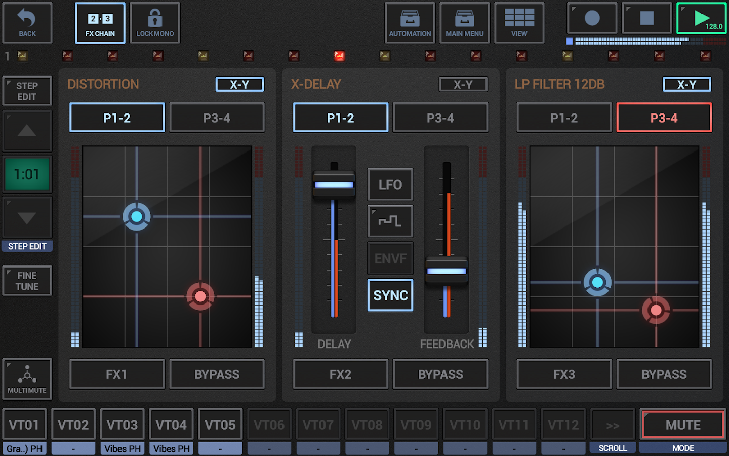 G-Stomper VA-Beast Synthesizer- screenshot