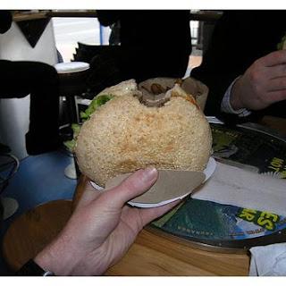 Stilton Burger
