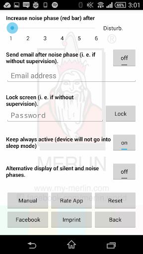 Merlin Noise Traffic Lights screenshot 3