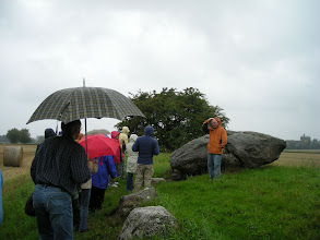 Photo: Store Rise Prehistoric Tomb, 6000 year old Long Dolmen, an early Neolithic burial place. Aero once had 200, but only 13 survive. 8/23/08
