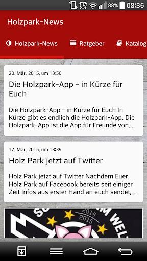 Holzpark-App