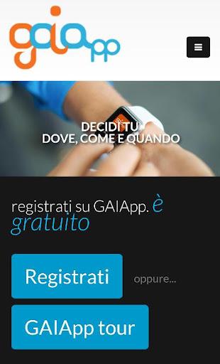 GAIApp - servizi a domicilio