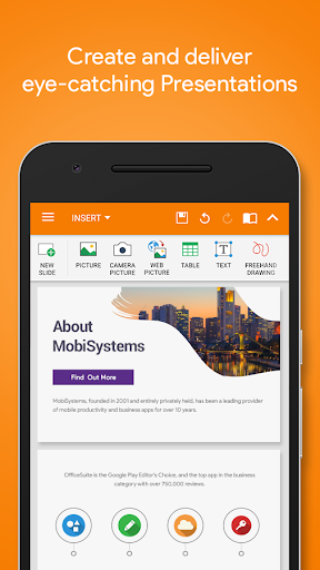 MobiSystems OfficeSuite : Free Office + PDF Editor screenshot 4