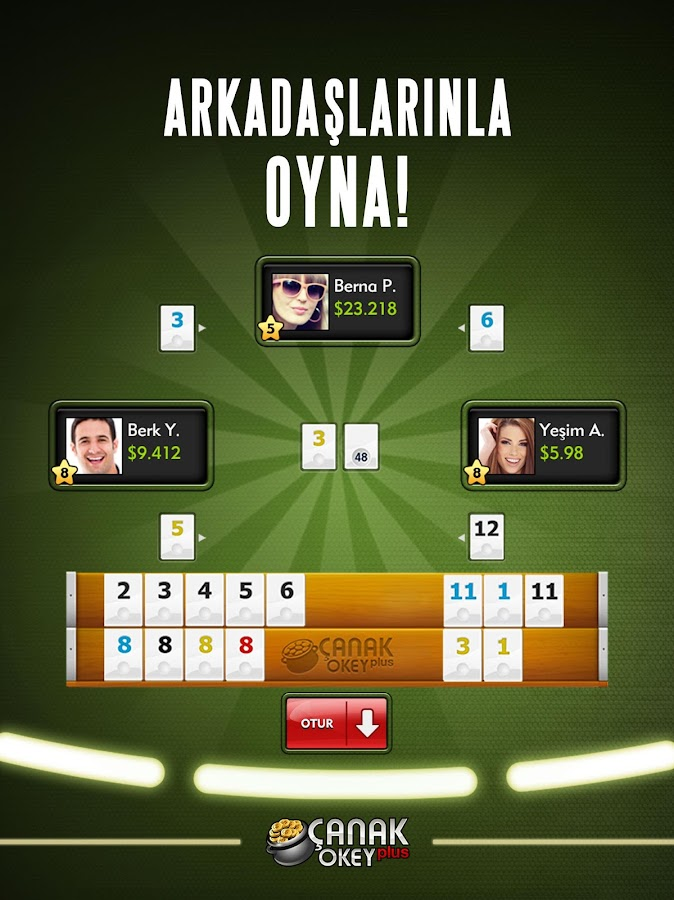 Screenshots of Çanak Okey Plus for iPhone