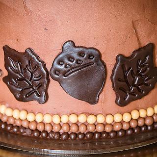 TRIPLE CHOCOLATE GENDER REVEAL CAKE