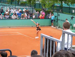 Photo: We start at a women's singles match between a Swiss and an Israeli player.