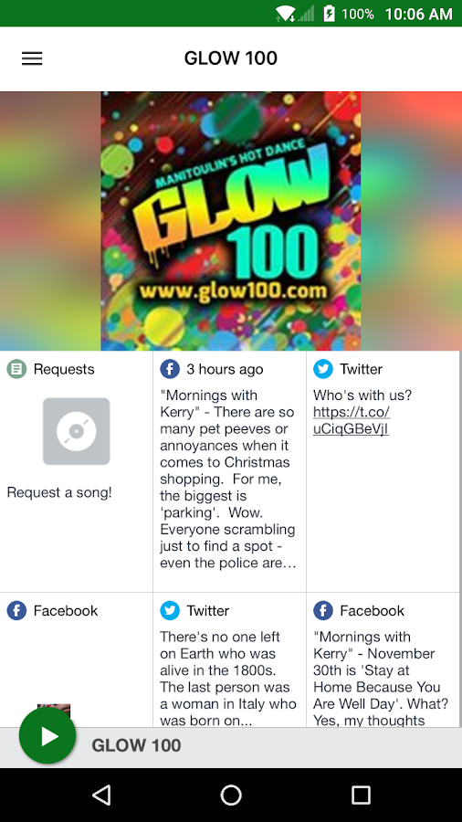 GLOW 100- screenshot