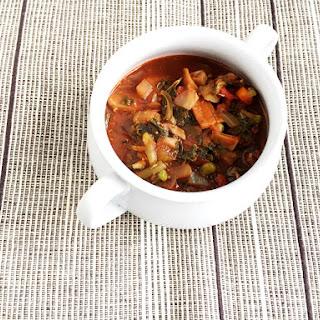 Vegan and Gluten-Free Mushroom Stew – Elimination Diet.