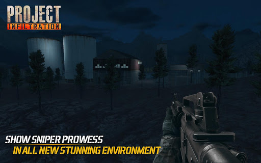 Mission Infiltration: Free Shooting Games 2019  άμαξα προς μίσθωση screenshots 1