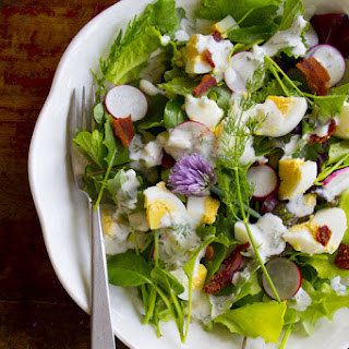 Spring Salad with Radishes and Yogurt Dill Dressing Recipe