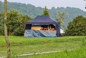 Photo: Notre camp de base