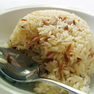Turkish-Style Rice Pilaf With Orzo.