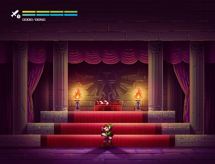 Zelda II - The Adventure of Link - wersja Andrésa Moncayo