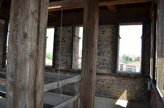 Photo: L'ultimo piano, in origine una terrazza circondata dalla merlatura